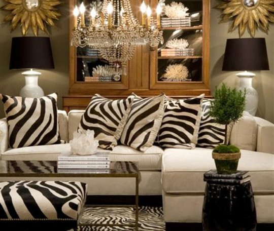 El lado salvaje de tu casa animal print la home for Living room 4 pics 1 word